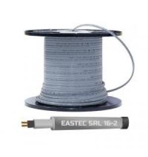 Для трубопроводов и резервуаров, при отсутствии прямого контакта с водой EASTEC SRL 16-2 M=16W (300м/рул.),греющий кабель без оплетки