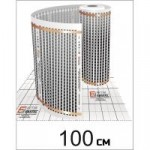 Термопленка EASTEC 100см*0,338мм*100м М=220W
